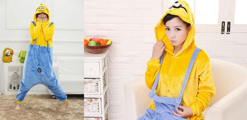 buy popular ade68 13a32 I pigiami dei Minions più belli   Peluches Disney