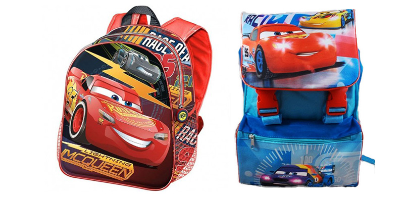 22d3ecf719 I migliori zaini per la scuola di Cars | Peluches Disney